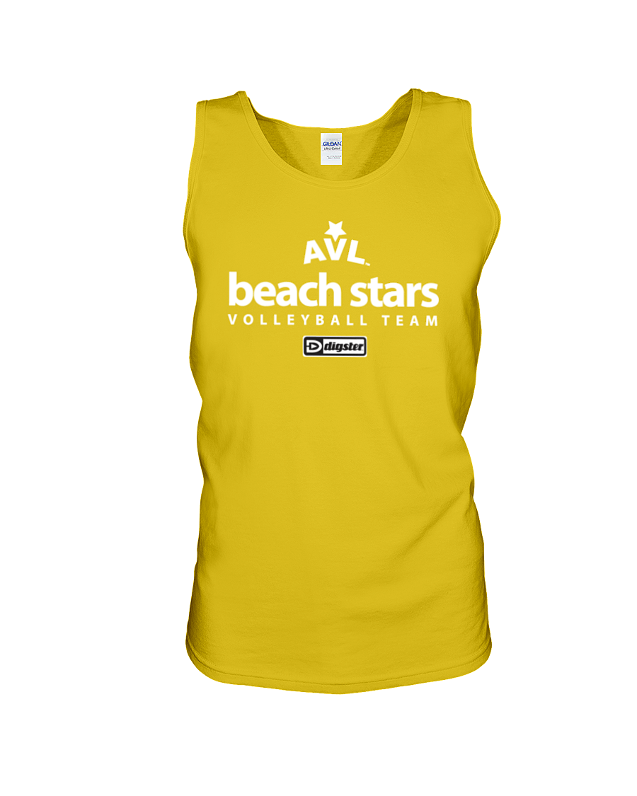 AVL Beach Stars Volleyball Team Issue Cotton Tank