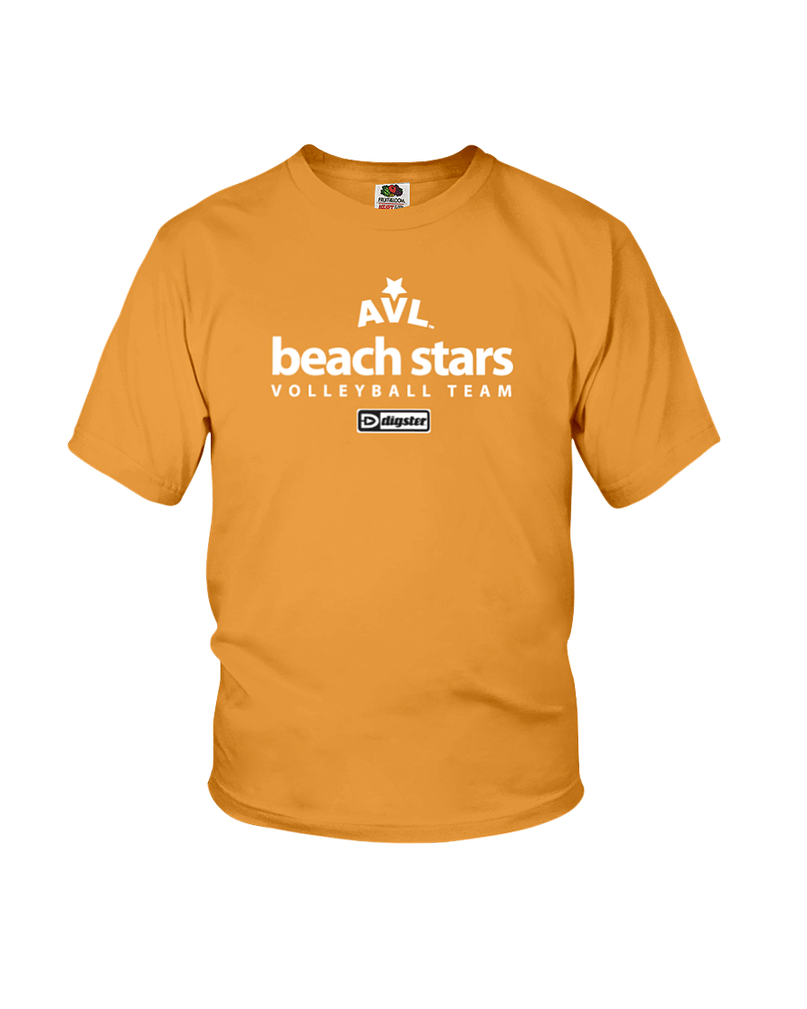 AVL Beach Stars Volleyball Team Issue Youth Tee