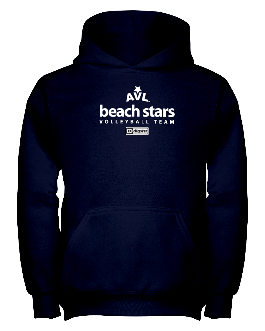 AVL Beach Stars Volleyball Team Issue Youth Hoodie