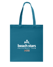AVL Beach Stars Volleyball Team Issue Canvas Shopping Tote