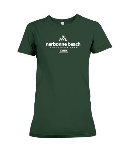 AVL Narbonne Beach Volleyball Team Issue Ladies Tee