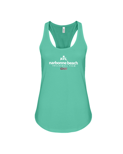 AVL Narbonne Beach Volleyball Team Issue Flowy Racerback Tank
