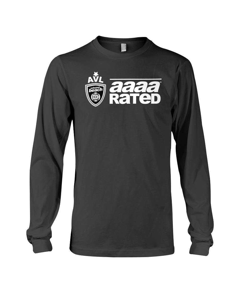 AVL AAAA Rated Wht Long Sleeve Tee