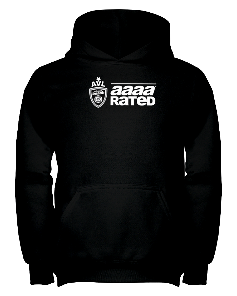 AVL AAAA Rated Wht Youth Hoodie