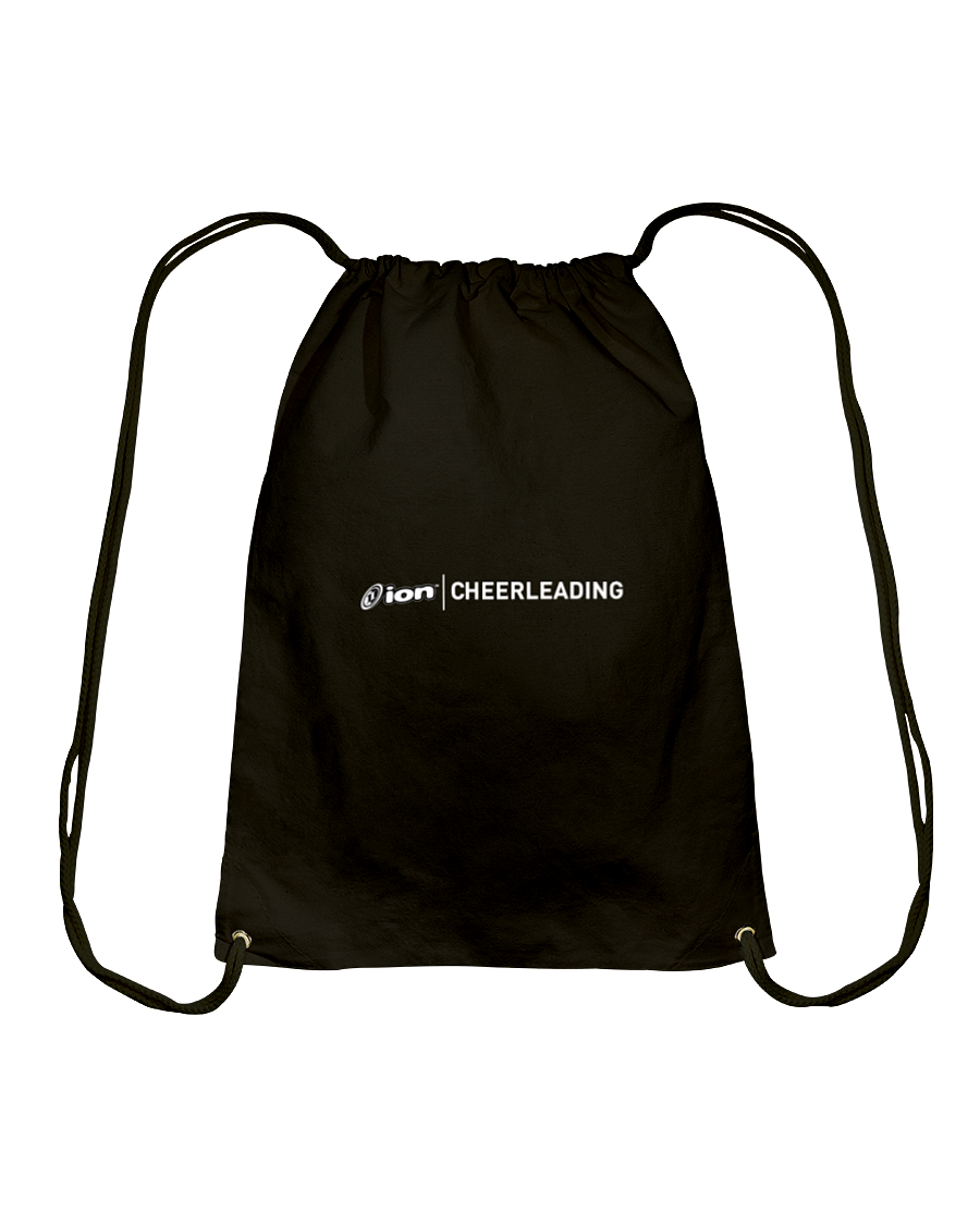 ION Cheerleading Cotton Drawstring Backpack