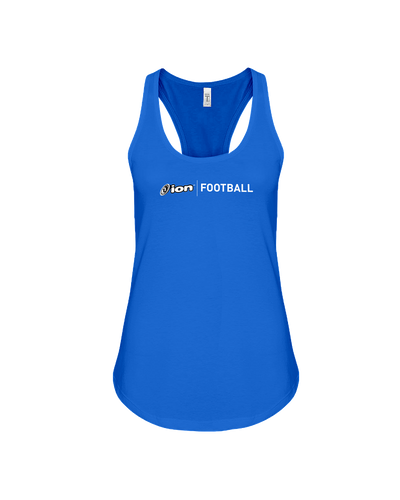 ION Football Flowy Racerback Tank