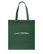 ION Football Canvas Shopping Tote