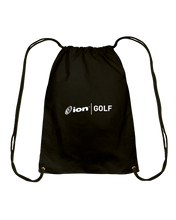 ION Golf Cotton Drawstring Backpack