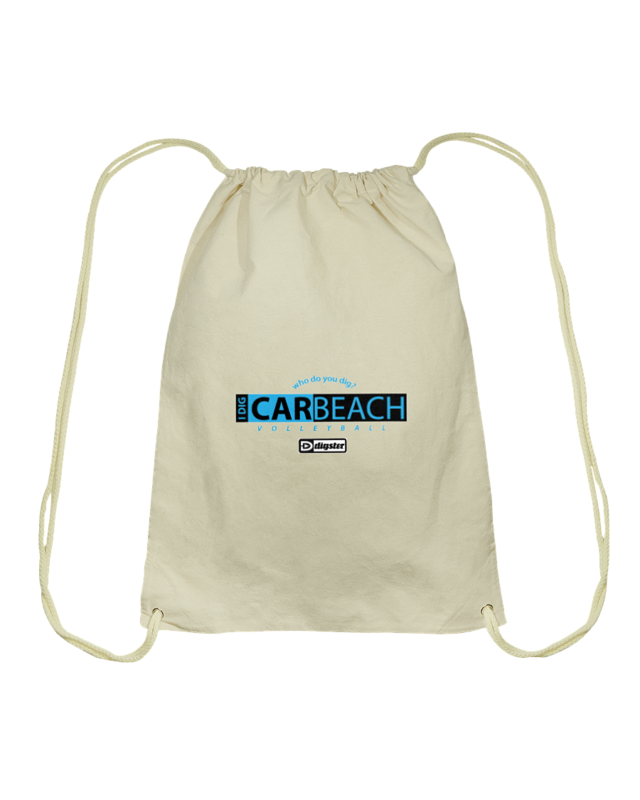 AVL Digster Carbeach Cotton Drawstring Backpack
