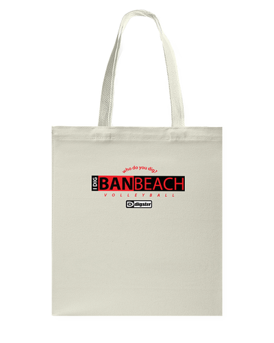 AVL Digster Banbeach Canvas Shopping Tote