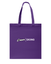 ION Skiing Canvas Shopping Tote