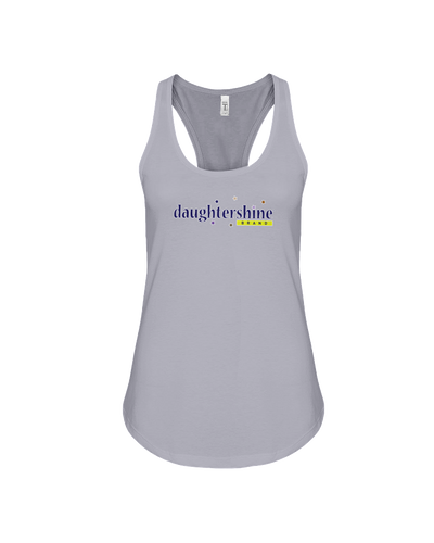 Daughtershine Brand Logo Racerback Tank