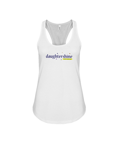 Daughtershine Brand Logo Flowy Racerback Tank