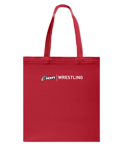ION Wrestling Canvas Shopping Tote