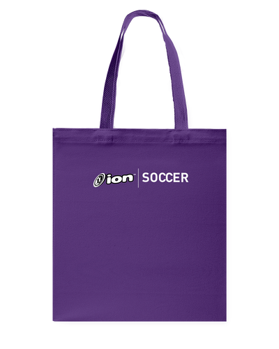 ION Soccer Canvas Shopping Tote