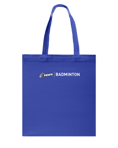 ION Badminton Canvas Shopping Tote
