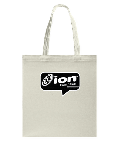 ION Carlsbad Conversation Canvas Shopping Tote