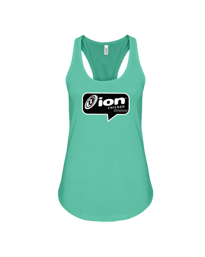 ION Chicago Conversation Flowy Racerback Tank
