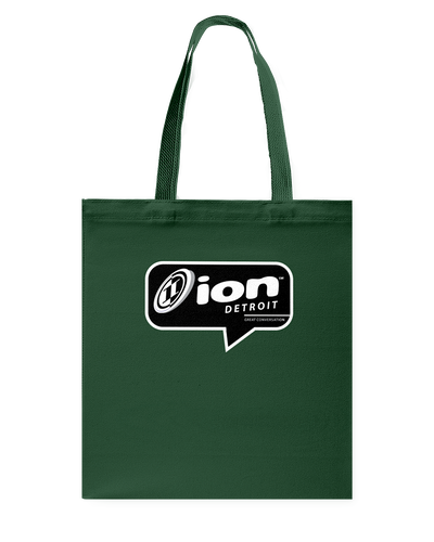 ION Detroit Conversation Canvas Shopping Tote
