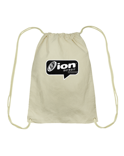 ION Detroit Conversation Cotton Drawstring Backpack