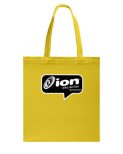 ION Encinitas Conversation Canvas Shopping Tote