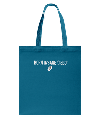 Family Famous Born Insane Diego Canvas Shopping Tote