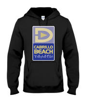Cabrillo Beach Volleyball Club Court Logo Hoodie