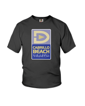 Cabrillo Beach Volleyball Club Court Logo Youth Tee