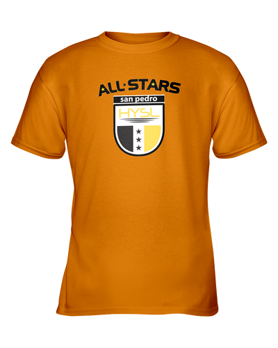 HYSL All-Stars by I KICK™ Gold Youth Tee