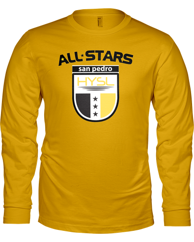 HYSL All-Stars by I KICK™ Gold Long Sleeve Tee
