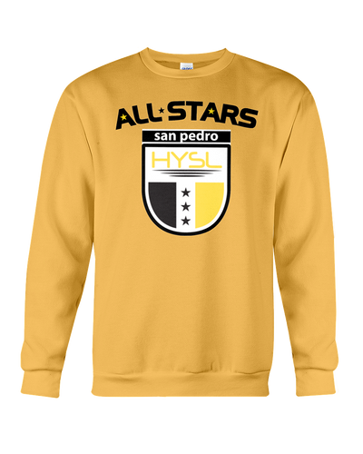 HYSL All-Stars by I KICK™ Gold Sweatshirt