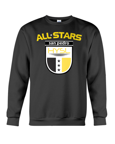 HYSL All-Stars by I KICK™ Black Sweatshirt
