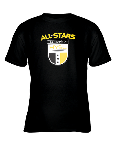 HYSL All-Stars by I KICK™ Black Youth Tee