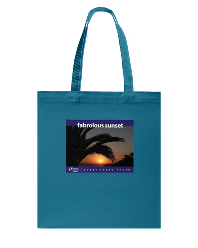 ION Fabro Fabrolous Sunset 01 Canvas Shopping Tote