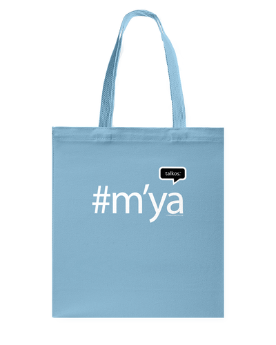 Family Famous M'ya Talkos Canvas Shopping Tote