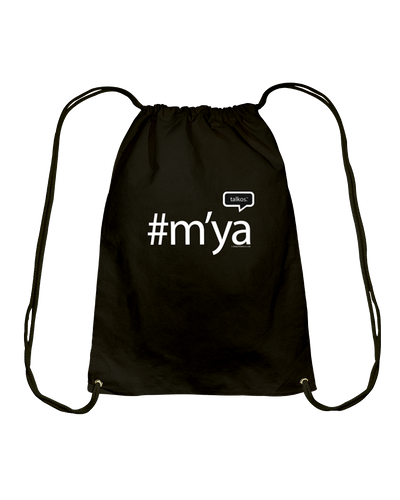 Family Famous M'ya Talkos Cotton Drawstring Backpack