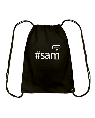 Family Famous Sam Talkos Cotton Drawstring Backpack