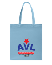 AVL Digster New Orleans Nawlins Canvas Shopping Tote
