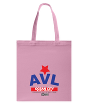 AVL Digster Ocean City Marylanders Canvas Shopping Tote