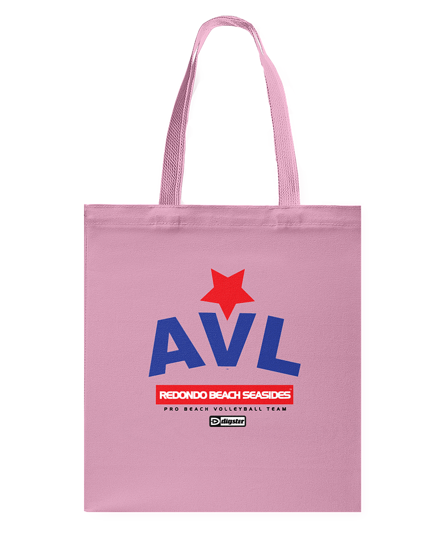 AVL Digster Redondo Beach Seasides Canvas Shopping Tote