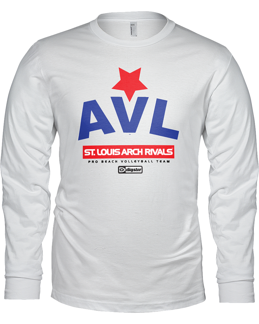 AVL Digster St. Louis Arch Rivals Long Sleeve Tee