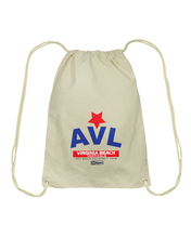 AVL Digster Virginia Beach Verticals Cotton Drawstring Backpack
