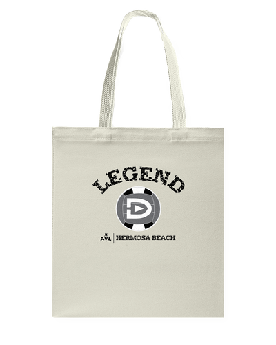 Digster Legend AVL Local Hermosa Beach Canvas Shopping Tote