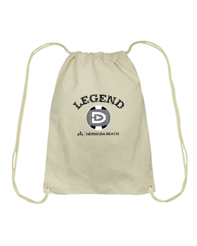 Digster Legend AVL Local Hermosa Beach Cotton Drawstring Backpack