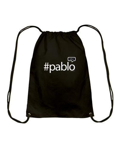 Family Famous Pablo Talkos Cotton Drawstring Backpack