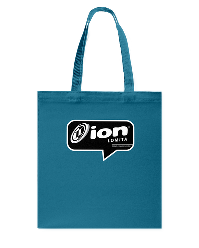 ION Lomita Conversation Canvas Shopping Tote