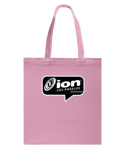 ION Los Angeles Conversation Canvas Shopping Tote