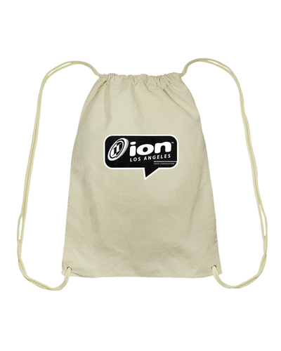 ION Los Angeles Conversation Cotton Drawstring Backpack