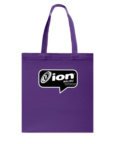 ION Malibu Conversation Canvas Shopping Tote