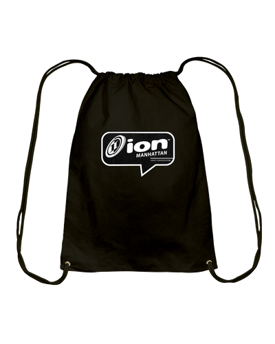 ION Manhattan Conversation Cotton Drawstring Backpack